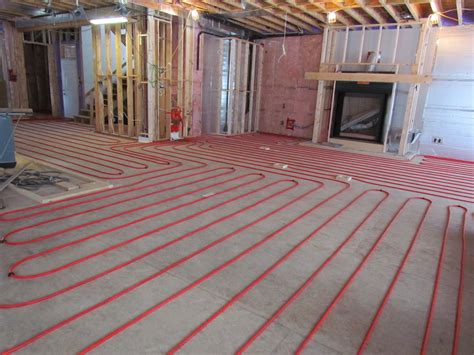 Radient Floor Heating by Ask Rob Radiant In Floor Heating In The Basement