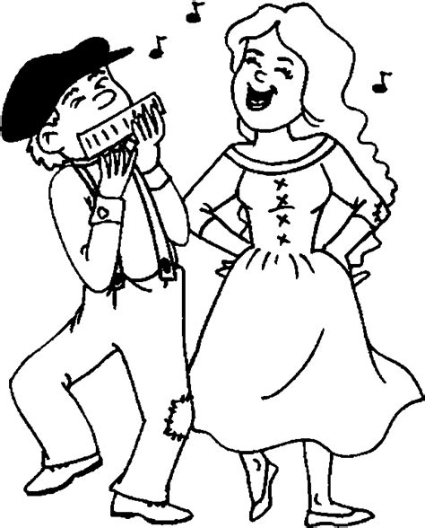dance coloring pages coloringpagesabc com