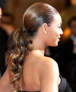 Low Ponytail Hairstyles Low Ponytail Hairstyles Hairstyles 2017 New Haircuts And