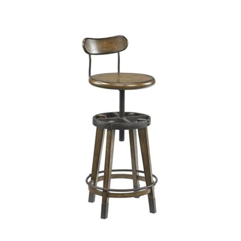 hammary bar stools hammary studio home adjustable stool in oak 166 948