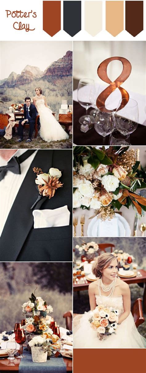 top 10 fall wedding colors from pantone for 2016 tulle