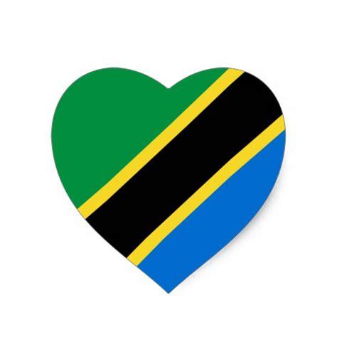 liegest tz r cklings tanzania flag sticker zazzle