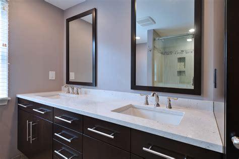 Silestone Bathroom Vanity Silestone Master Vanity Contemporary Bathroom Philadelphia By Cosmos Marble And Granite