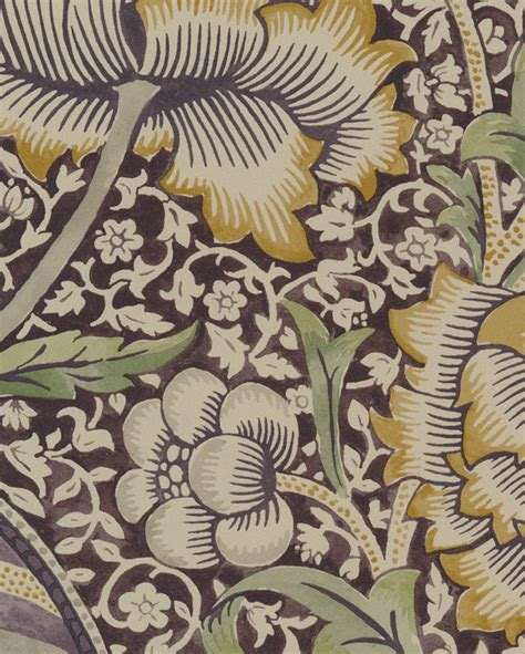 wandle textil tapet 81441 scroll thyme pear fr 229 n william morris co
