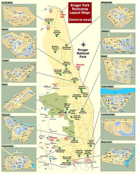 kruger national park map kruger park entrance gates and cs map kruger park