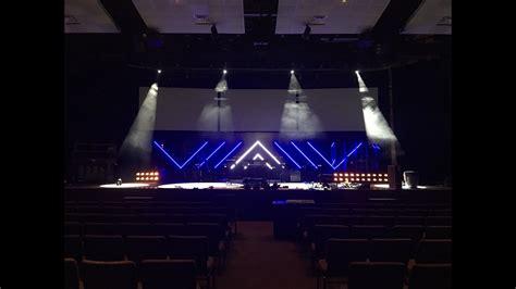 diy led lighting diy led light stage set
