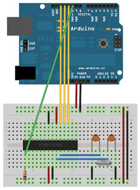 tutorial arduino breadboard arduino arduinoisp