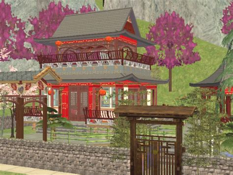 China House Ii by Mod The Sims China House