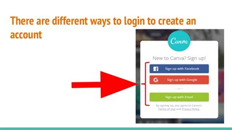 canva login page how to use canva