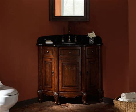 Corner Bathroom Vanity Cabinet 38 Xylem Vc Malago 20dm Corner Bathroom Vanity Bathroom Vanities Bath Kitchen And Beyond