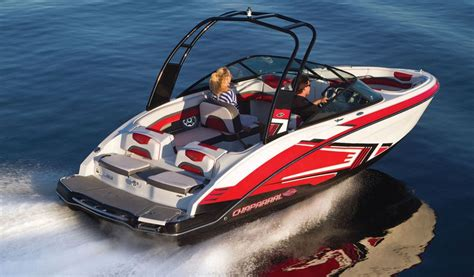 chaparral jet boats top speed the chaparral 203 vortex is powered by a single