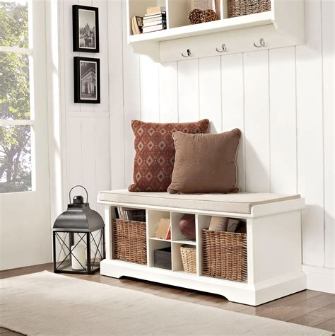 entry benches with storage white entryway storage bench home design ideas loversiq