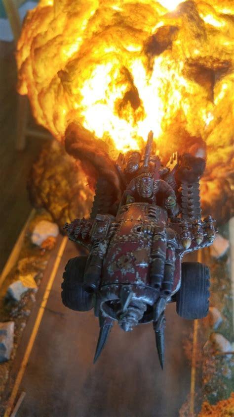 epic warhammer  diorama barnorama