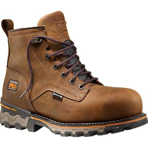 comfortable composite toe shoes timberland pro boondock ct eh waterproof work boot 92615214
