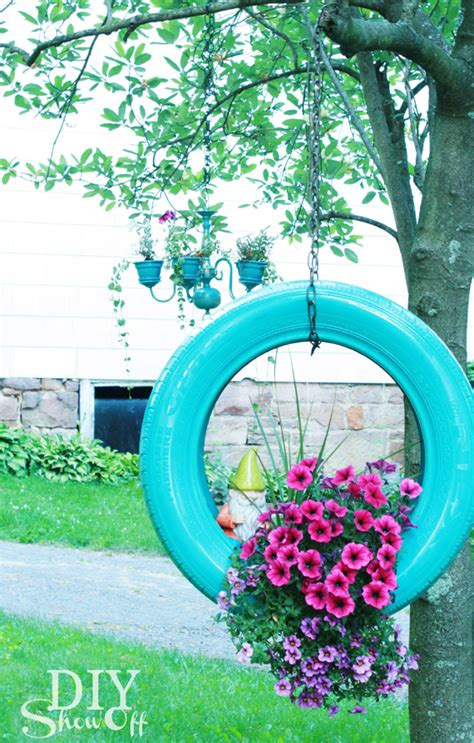 Tire Planters Diy by Make A Diy Painted Tire Planter From Tires Outdoor