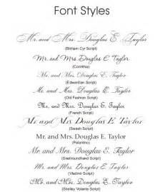 wedding invite font pairing free wedding invitation font combinations infoinvitation co