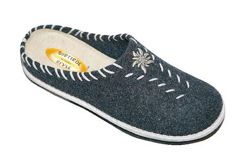 Handmade Slippers - handmade tyrolean slippers graz model footwear