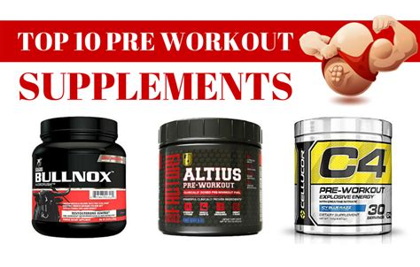 best pre workout best pre workout supplements top 10 pre workout supplements