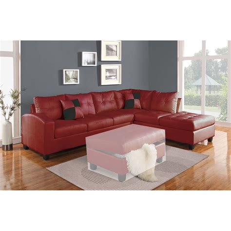 Sectional Sofa Pillows Kiva Sectional Sofa W 2 Pillows Reversible In
