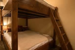 Bunk Bed Shelf Custom Bunk Beds Full Over Queen Bunk Bed