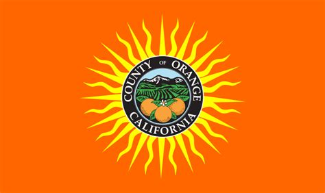 Orange County Ca Records File Flag Of Orange County California Svg Wikimedia Commons