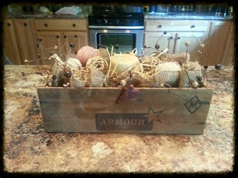 kitchen island centerpiece primitive decor centerpieces