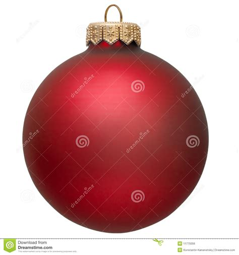 red christmas ornament royalty free stock image image