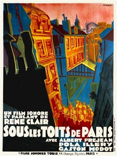 rene clair best films poster of sous les toits de paris directed by ren 233 clair