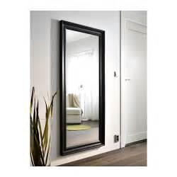 Ikea Mirror Hemnes Mirror Black Brown 74x165 Cm Ikea