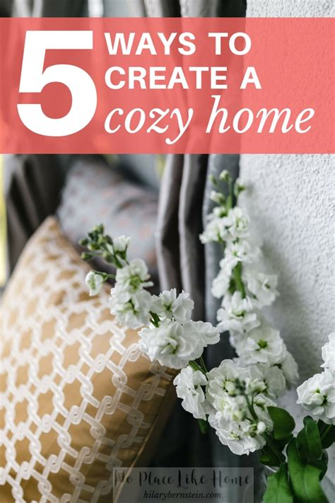 18 easy ways to make your home cozy for fall vogue 5 ways to create a cozy home no place like home