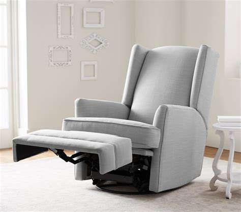 wingback rocker recliner modern wingback rocker recliner pottery barn kids