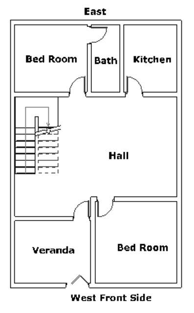 West House Vastu Plan 2 Vasthurengan Com West House Plans Per Vastu