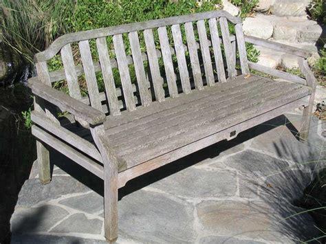 weathered teak patio furniture outdoorlivingdecor