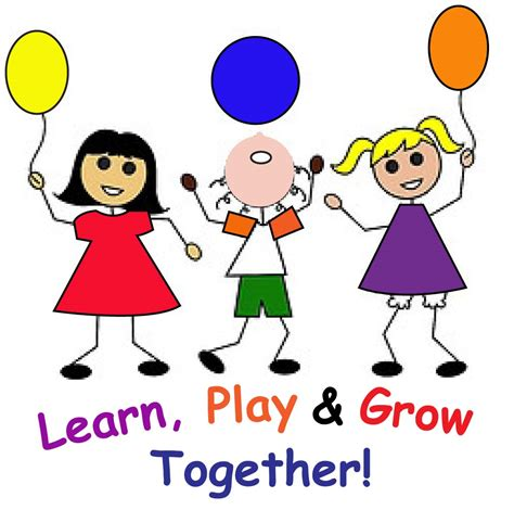 Learn To Play by Play Learn Grow Together Free Clipart Free Image