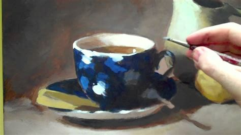 watercolor tutorial still life how to paint acrylic still life time lapse still life