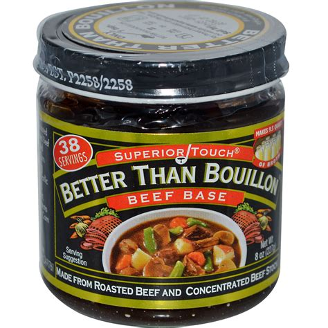 beef better than bouillon better than bouillon superior touch beef base 8 oz 227