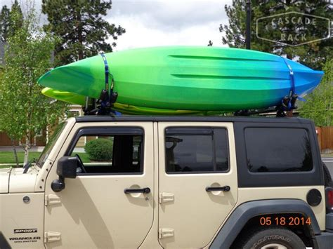 Kayak Rack For Jeep Cascade Rack Custom Rack 2012 Jeep Wrangler Unlimited