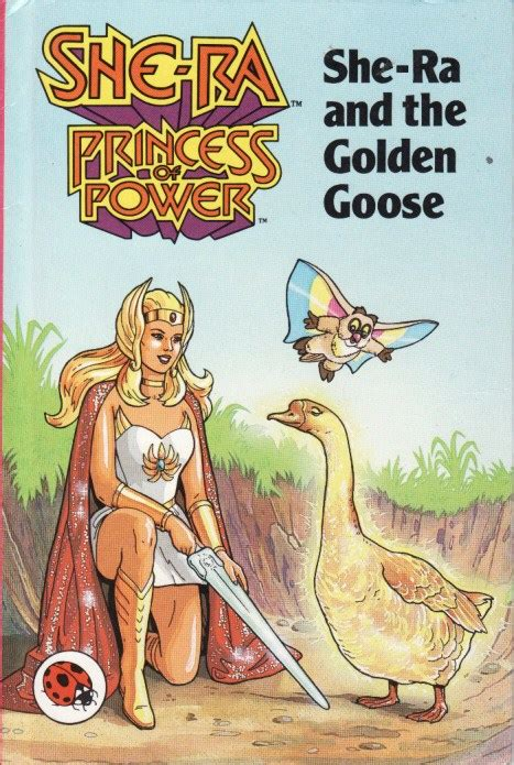 the she book books she ra and the golden goose ladybird book she ra series