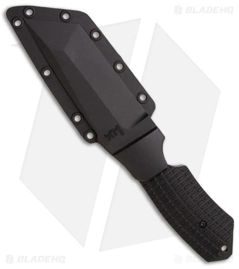 hk conspiracy h k conspiracy fixed blade knife 4 8 quot black 14101bt