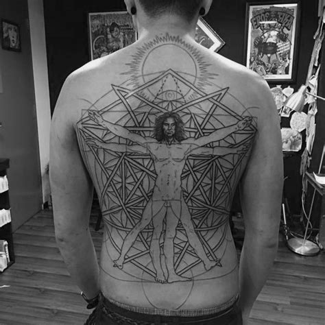vitruvian man tattoo designs 50 vitruvian designs for da vinci ink ideas