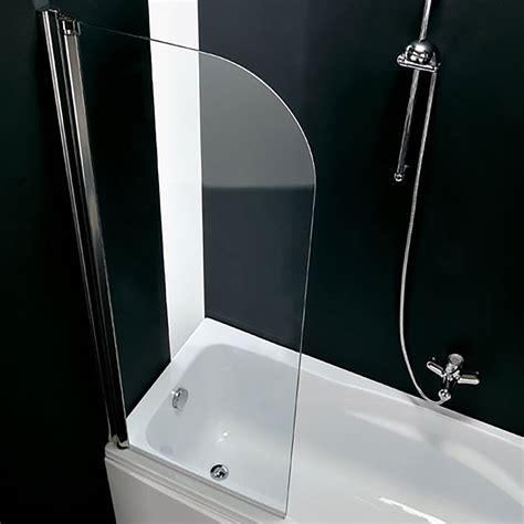paratia per vasca da bagno parete per vasca da bagno girevole sinistra 67 cm