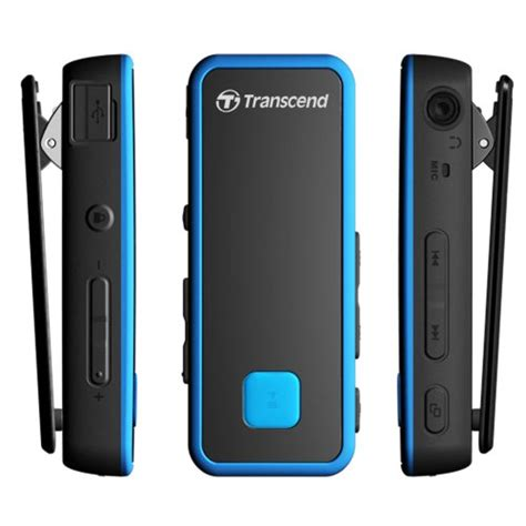 Transcend Digital Player Mp350 8gb Fitness Tracker transcend ts8gmp350b outdoor serie mp3 player mit fitness