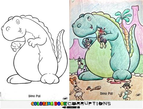 24 coloring book corruptions your childhood colouring books now with nightmares