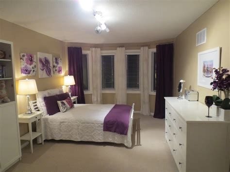 white and mauve bedrooms white purple beige bedroom ideas for the home