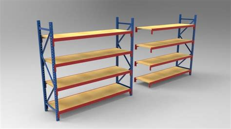 commercial heavy duty industrial shelving systems for