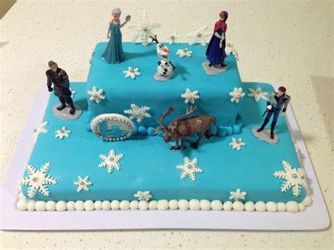ideas  frozen cake decorations  pinterest frozen cake frozen cake tutorial