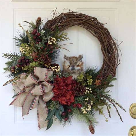 How To Make Handmade Wreaths - 25 best ideas about winter wreaths on letter