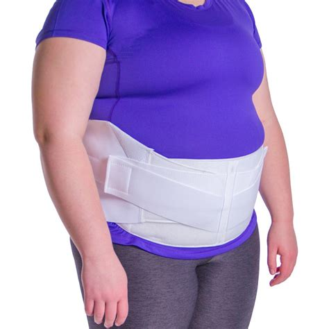 braceability 4xl plus size bariatric abdominal stomach binder obesity girdle belt