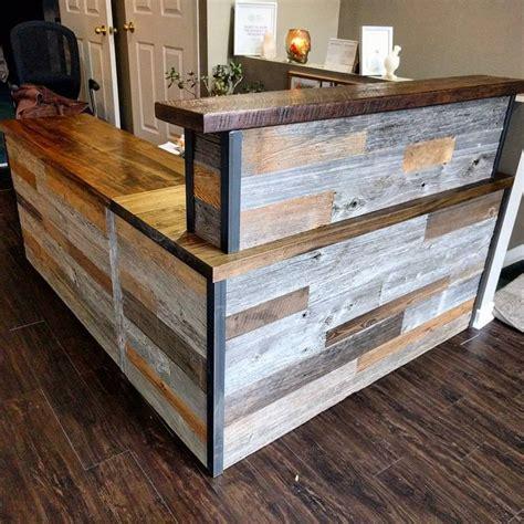antique reception desk best 25 salon reception desk ideas on