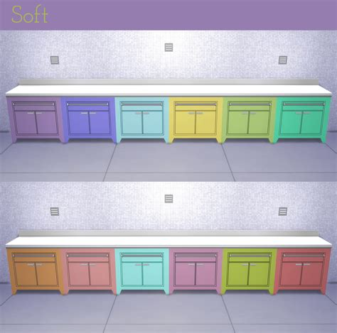 Latest Kitchen Furniture mod the sims corporate chic counter and island recolors
